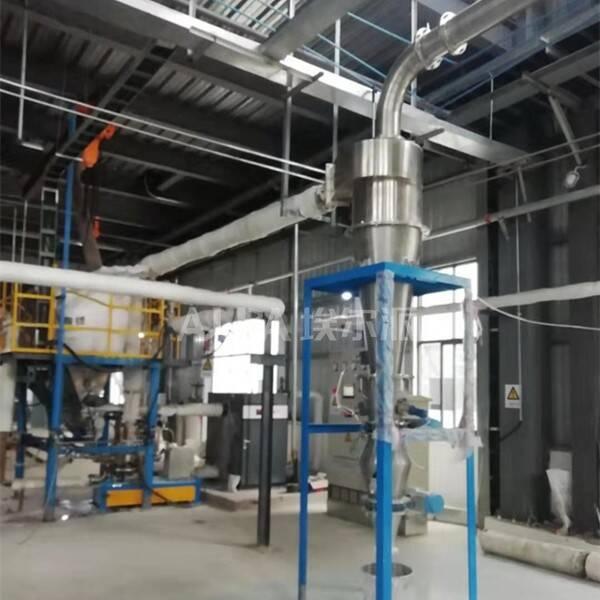四川某锂业有限公司 购买碳酸锂超微粉碎机S-MQPW500